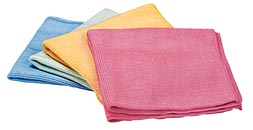 Norwex Antibac Enviro Cloths - Blue, green, yellow and red
