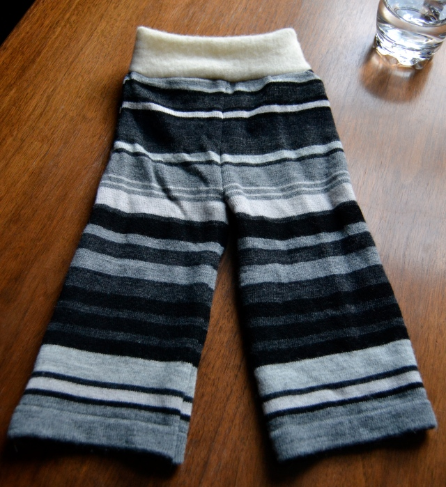 Homemade Wool Soaker Pants