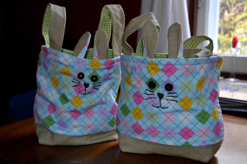Homemade Easter Basket - Sewing project