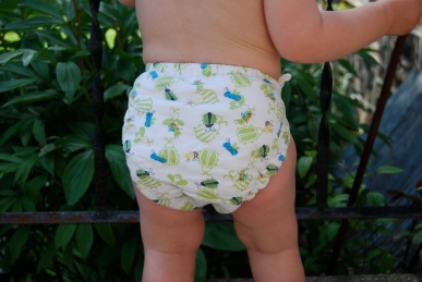 Norwex detergent and cloth diapers