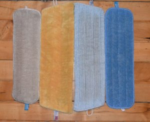 e-cloth and Norwex mop pads