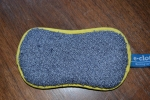 scrubby side on used ecloth washing up pad