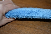 ecloth dusting wand with plush microfiber