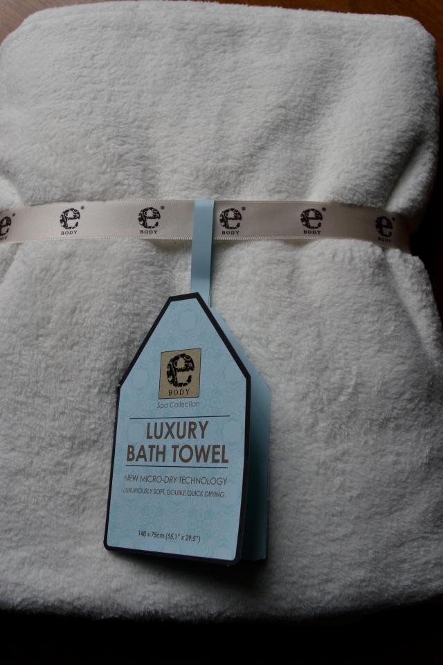 ebody luxury microfiber bath towel by e-cloth