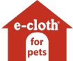 e-cloth for pet - microfiber for pet cleaning and drying
