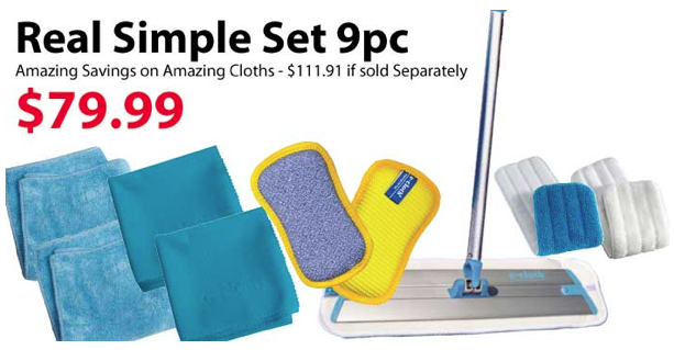 Real Simple dream e-cloth set