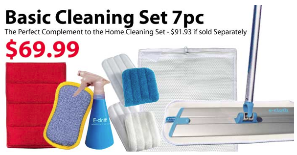 ecloth basic cleaning set
