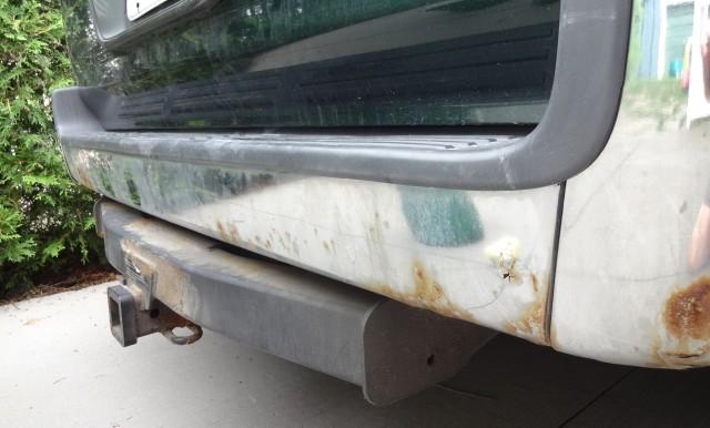 rusty chrome on 2000 4-Runner