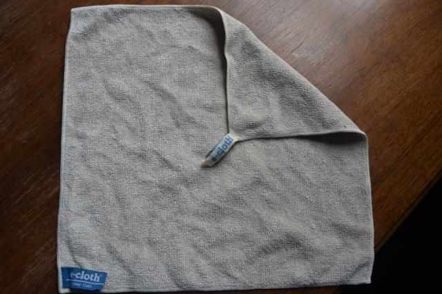 stain-free e-cloth