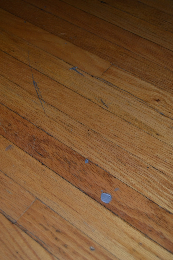 When crafts get messy how to remove dried acrylic paint for How to clean paint off wood floors