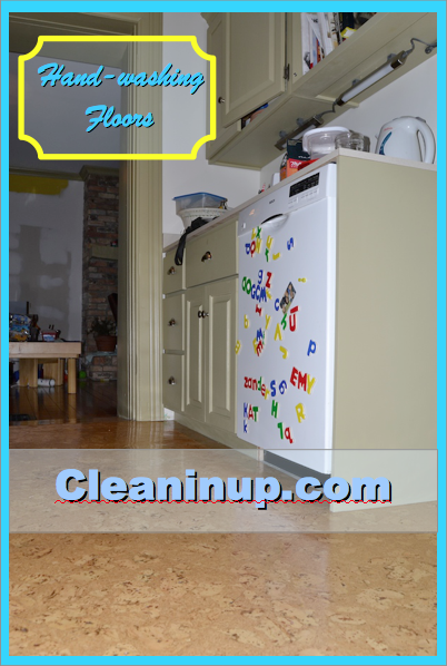 handwashing floors is easy with ecloth