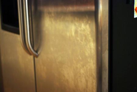 streaks on stainless appliances