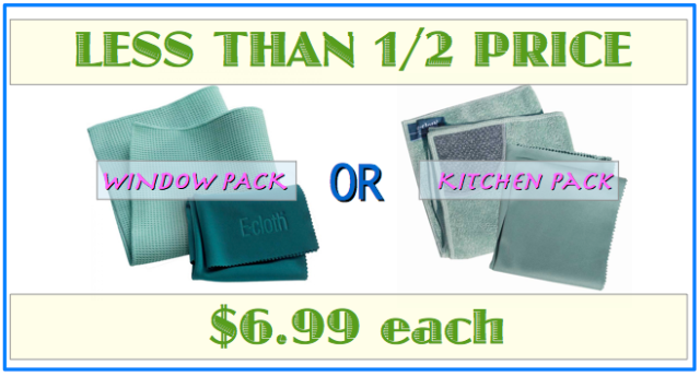 Window and kitchen packs on super sale