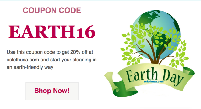 earth day sale at eclothusa.com